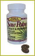 Saw Palmetto fortified with Pumpkin Seed OIl and Beta-Sitosterol (Bottle of 60)